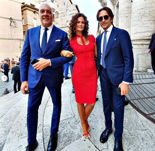 Eleonora Daniele, nozze con Giulio Tassoni: ecco i vip presenti