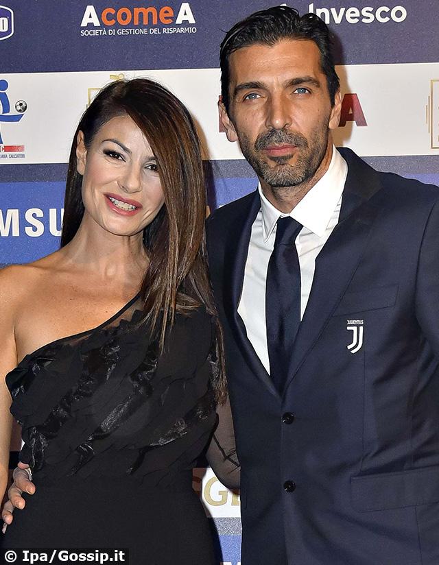 Ilaria D'Amico, 46 anni, e Gigi Buffon, 41, sono una coppia dal 2014