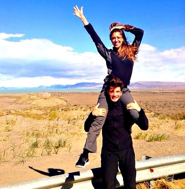Belen Rodriguez, la splendida dichiarazione d'amore di De Martino su Instagram