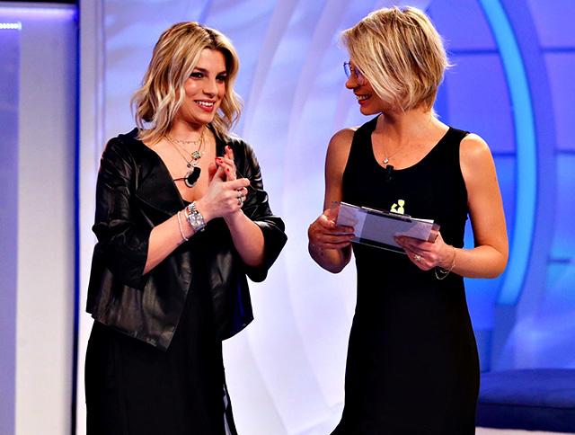 Maria De Filippi con Emma Marrone, la loro amicizia è sempre solidissima