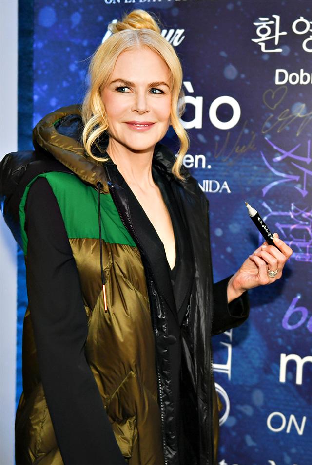 Nicole Kidman alla Milano Fashion Week
