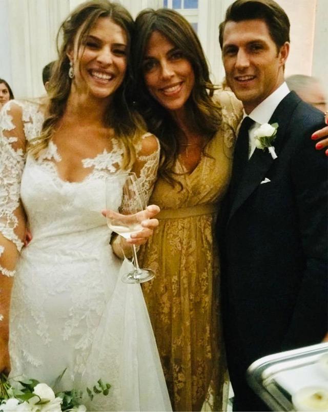 Cristina Chiabotto e Marco Roscio insieme a Fabiola Sciabbarrasi