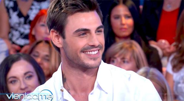 Francesco Monte, 31 anni, ospite mercoledì 25 settembe a 'Vieni da me' da Caterina Balivo