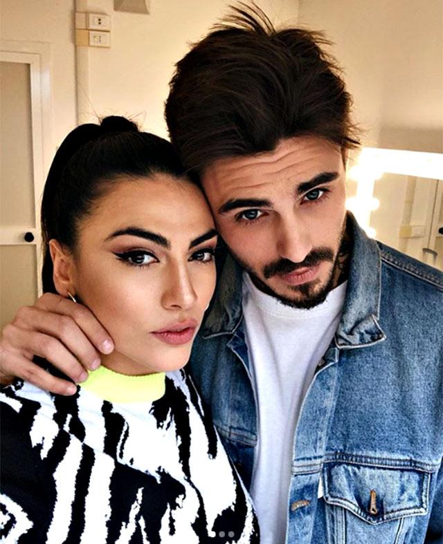 Francesco Monte e Giulia Salemi, 26 anni, ai tempi della loro relazione, la cui rottura è stata annunciata il 6 giugno 2019