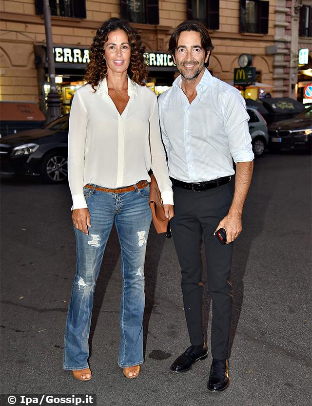 Samantha De Grenet, 46 anni, insieme al marito Luca Barbato, risposato nel 2015