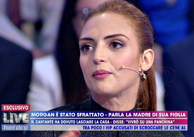 Jessica Mazzoli a 'Live - Non è la D'Urso'