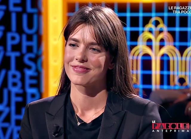 Charlotte Casiraghi ospite di 'Le parole della settimana' su Rai3