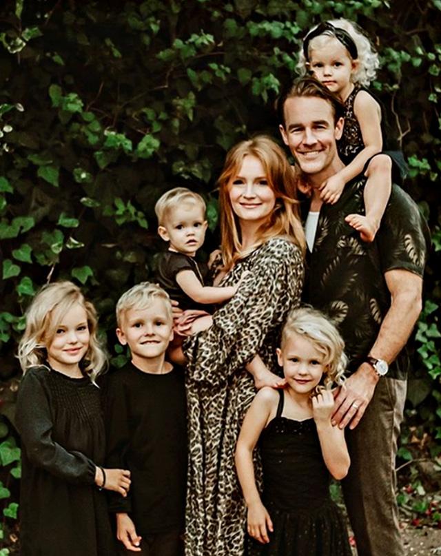 James Van Der Beek e la moglie Kimberly hanno già cinque figli