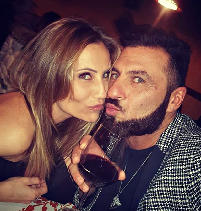 Ursula Bennardo, 37 anni, e Sossio Aruta, 48, hanno avuto il loro primo figlio insieme