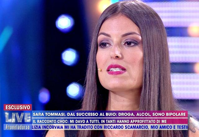 Sara Tommasi non tornerà più quella di prima e dovrà prendere per sempre degli psicofarmaci