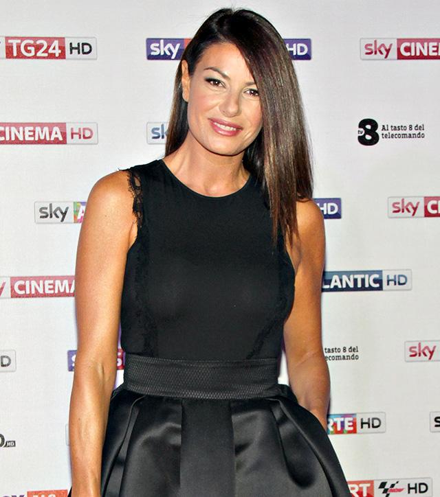 Ilaria D'Amico, 46 anni, è gelosa di Gigi Buffon, ma anche lui lo è di lei
