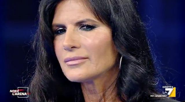 Pamela Prati, 60 anni, è tornata in tv da Massimo Giletti
