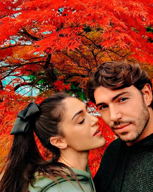 Cecilia Rodriguez felice con Ignazio Moser Il nostro segreto Fare tanto lamore