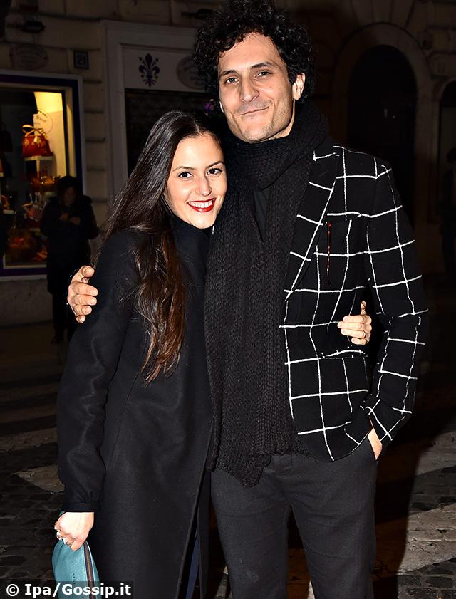 Alessandro Tersigni insieme alla moglie Maria Stefania Di Renzo