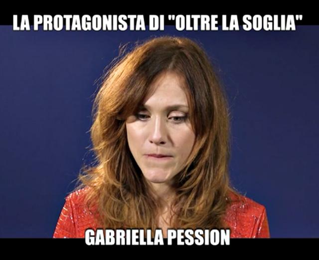 Gabriella Pession è protagonista della nuova fiction 'Oltre la soglia'
