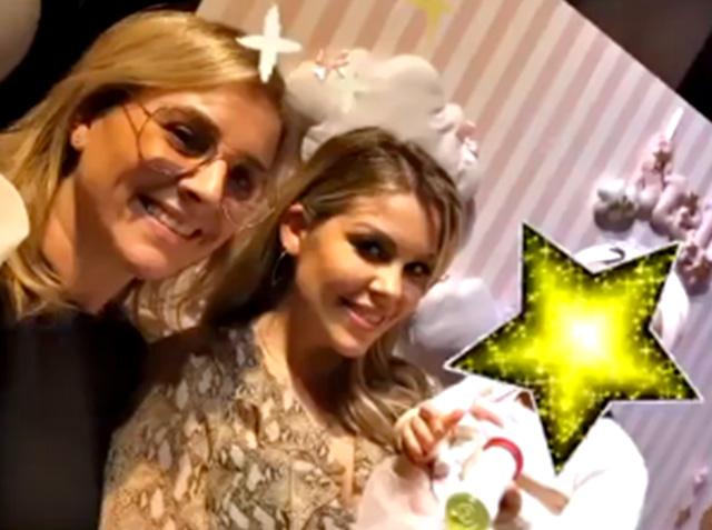 Costanza Caracciolo festeggia la figlia di un anno