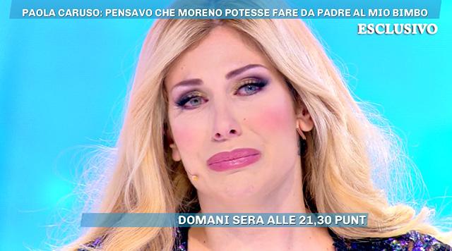 Paola Caruso, 34 anni, racconta la sua verità sull'addio a Moreno Merlo a 'Domenica Live'