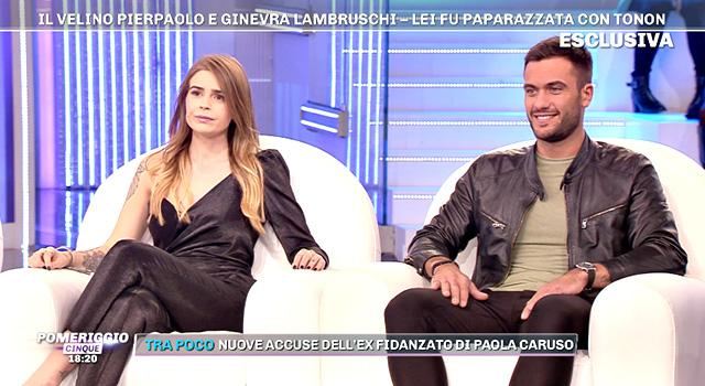 Pierpaolo Pretelli lascia Ginevra Lambruschi in diretta tv