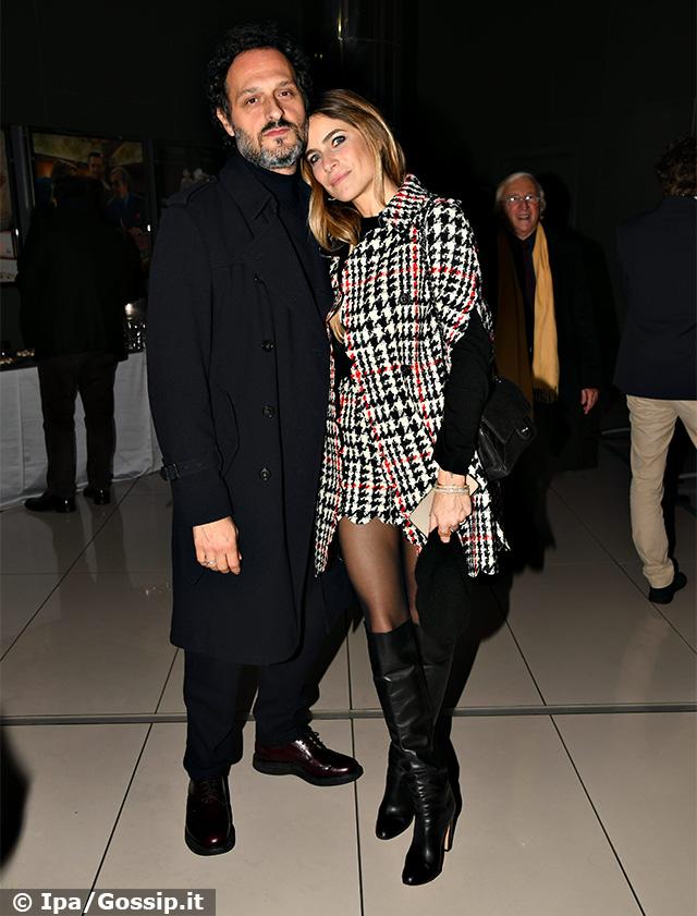 Eleonora Pedron, 37 anni, insieme a Fabio Troiano, 45, alla premiere del film 'Nati due volte'