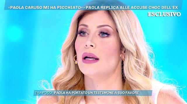 Paola Caruso si scaglia contro Moreno Merlo: 'L'ho denunciato! Ci vediamo in tribunale'