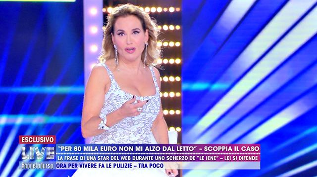 Barbara D'Urso scambia Chiara Nasti per Chiara Biasi, gaffe epica e il web si scatena
