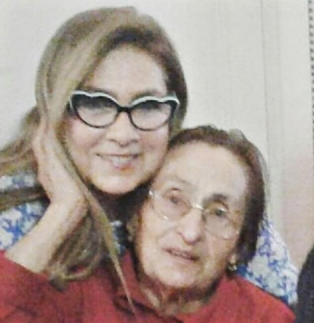 Romina Power, 68 anni, con Jolanda Carrisi, scomparsa il 10 dicembre a 96 anni