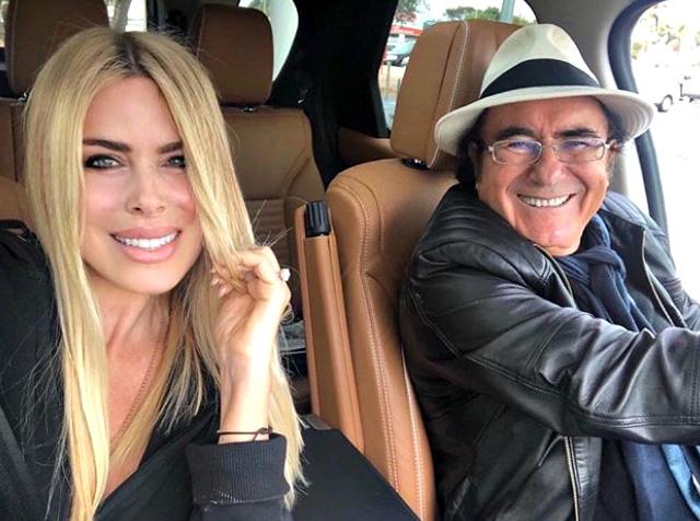 Loredana Lecciso, 47 anni, con Albano Carrisi, 76