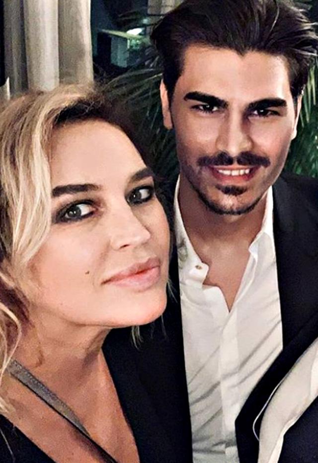 Lory con il comapgno Marco Cucolo, 27 anni