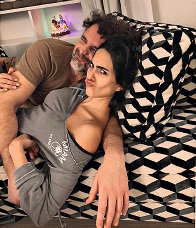 Rocìo Munoz Morales e Raoul Bova, foto di coppia della figlia Luna