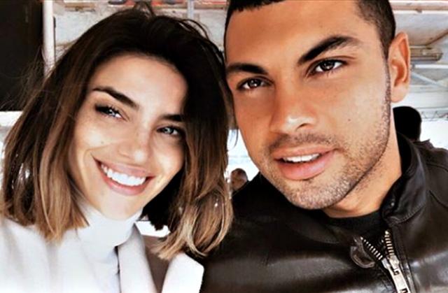 Nicole Mazzocato e Thomas Teffah