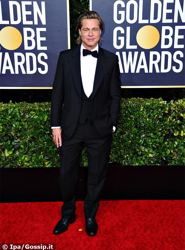 Anche Brad Pitt, 56 anni, ha portato il suo fascino sul tappeto rosso dell'evento