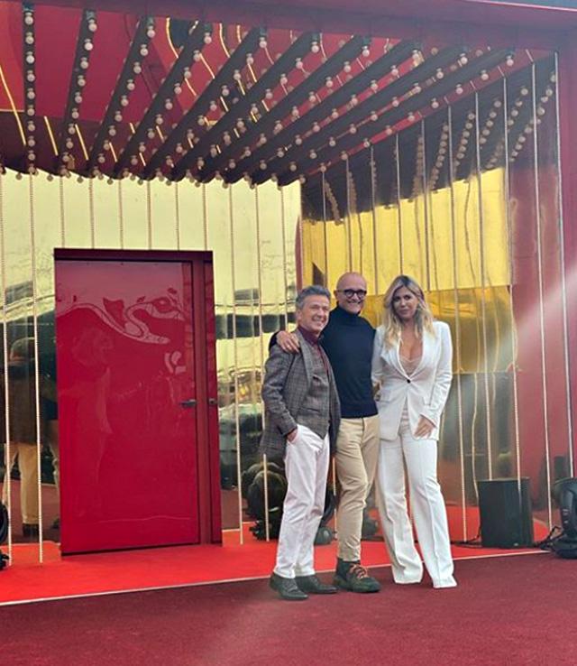 Il direttore di 'Chi' ha fortemente voluto Pupo e Wanda Nara come opinionisti del reality show