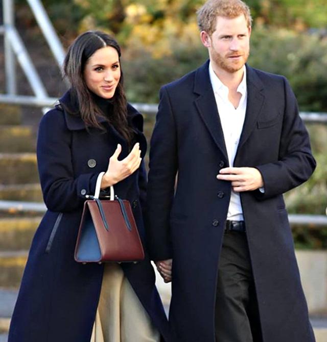 Meghan Markle, 38 anni, insieme al Principe Harry, 35