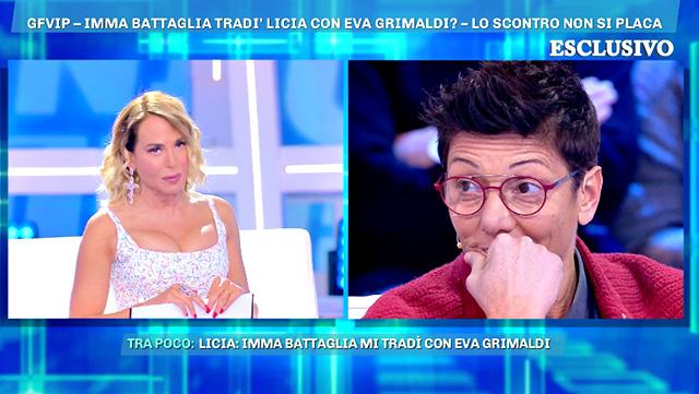 Imma Battaglia contro Licia Nunez: 'Sta sfruttando me ed Eva Grimaldi: è una bugiarda!'