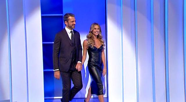 Cristina Marino e Luca Argentero in coppia per la prima volta in tv: la bionda si commuove