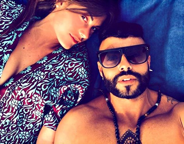 La foto social con cui Ilaria ha annunciato di essersi fidanzata con Andrea