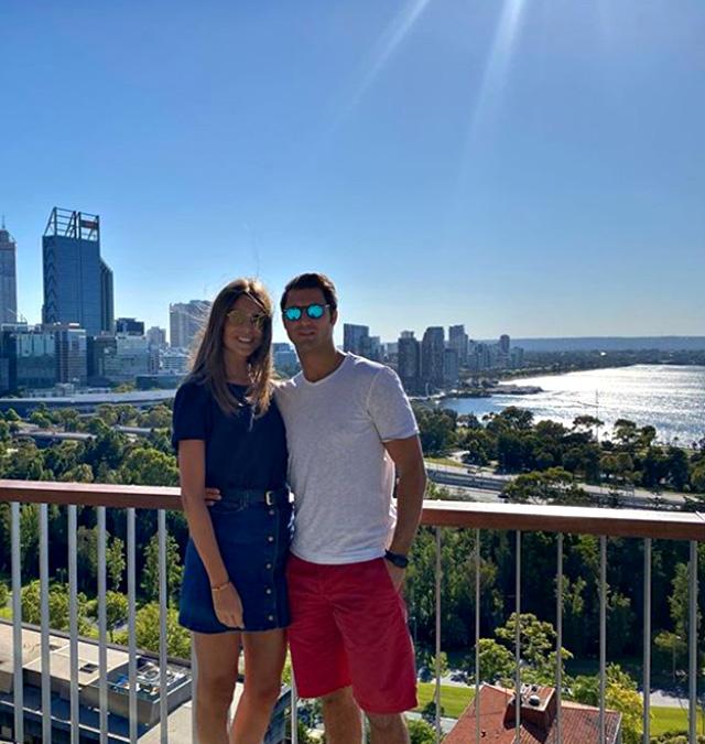 Cristina e Marco in Australia