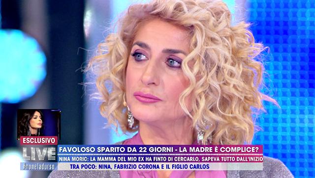 Loredana Fiorentino ha difeso il figlio e attaccato la Moric