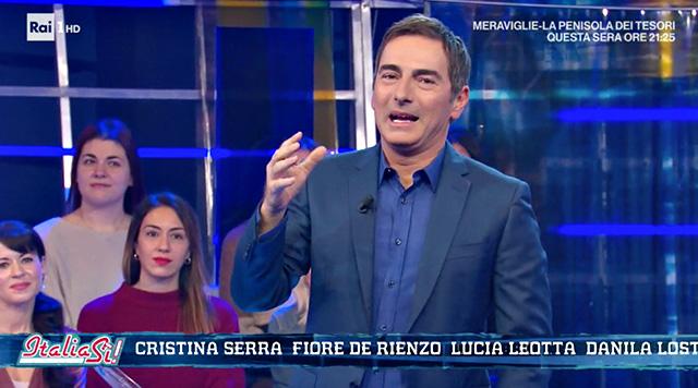 Marco Liorni, il dramma in diretta