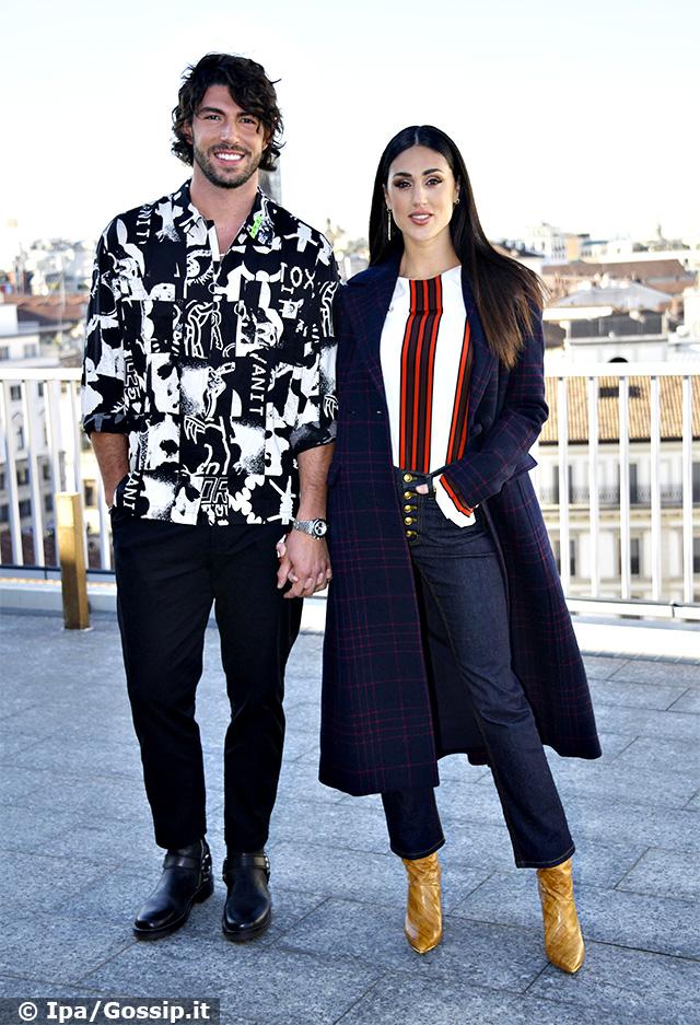 Ignazio Moser, 27 anni, e Cecilia Rodriguez, 29, presentano a Milano la nuova edizione di 'Ex on the Beach'