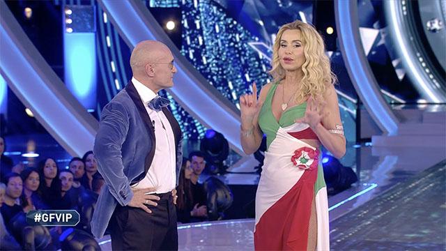 Rita Rusic e Valeria Marini, faccia a faccia al GF Vip: è scontro