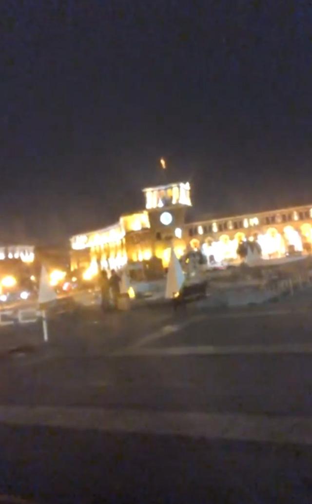 Un frame del video condiviso da Favoloso dall'Armenia