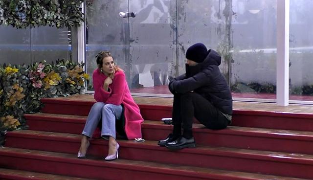 Clizia con Paolo Ciavarro, 29 anni