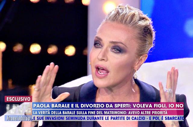 Paola Barale contro Gianni Sperti e Raz Degan: 'Mi hanno fatto del male, di loro non parlo'