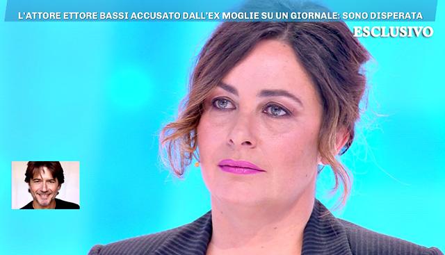 Angelica Riboni, l'ex moglie di Ettore Bassi, appello in tv: 'Vorrei vedesse di più le figlie'