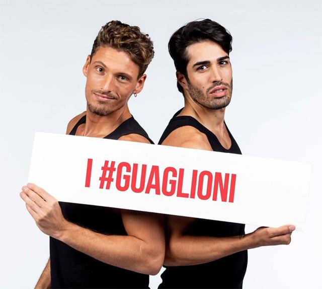 Gennaro Lillio e Luca Punzo sono 'I Guaglioni'
