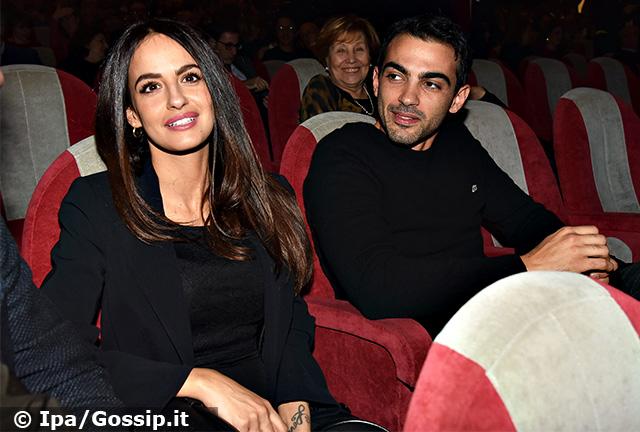 Primo con la nuova fidanzata al teatro Sistina di Roma