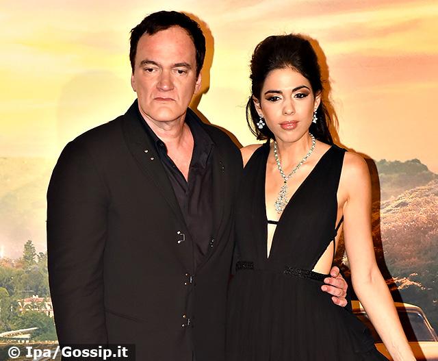 Quentin Tarantino, 56 anni, insieme a Danielle Pick, 36