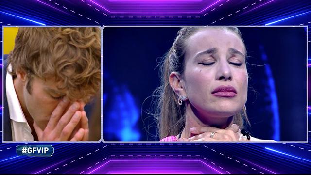 Clizia Incorvaia squalificata dal GF Vip per le frasi imperdonabili: le lacrime di Paolo Ciavarro