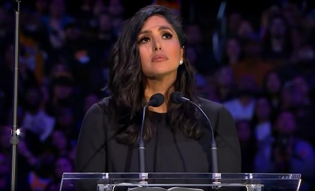 Vanessa Bryant in lacrime: il toccante discorso al funerale del marito Kobe